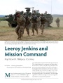 Leeroy Jenkins and Mission Command