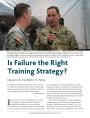 Is Failure the Right Training Strategy