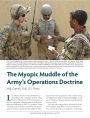 The Myopic Muddle of the Army's Operations Doctrine