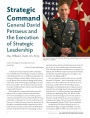 Strategic Command: General David Petraeus and the Execution of Strategic Leadership