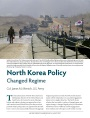 North Korea Policy: Changed Regime