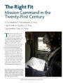The Right Fit: Mission Command in the Twenty-First Century