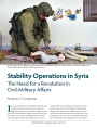 Stability Operations in Syria: The Need for a Revolution in Civil-Military Affairs