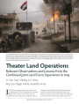 Theater Land Operations: Relevant Observations and Lessons from the Combined Joint Land Force Experience in Iraq