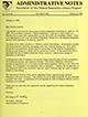 Administrative notes, vol. 14, no. 04