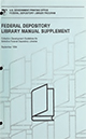 Federal depository library manual