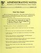 Administrative notes, vol. 15, no. 12
