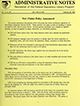 Administrative notes, vol. 14, no. 05