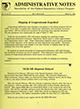 Administrative notes, vol. 14, no. 07