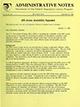 Administrative notes, vol. 15, no. 15