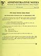 Administrative notes, vol. 15, no. 06