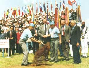 1992 Public Papers - At the ground-breaking ceremony for the Korean War Veterans Memorial on The Mall, June 14