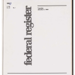 Digitized Federal Register Volumes, 1990-1994