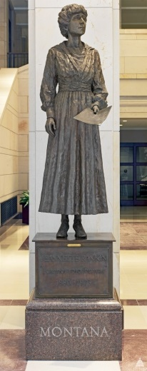 Jeannette Rankin -  Emancipation Hall, U.S. Capitol Visitor's Center