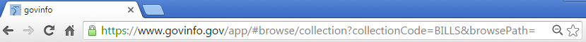 Old browse URL