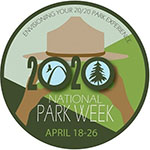 National Park Week 2020 logo, Source: NPS