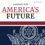 Cover of the FY2021 Budget of the United States