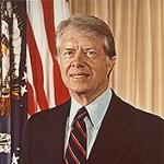 President Jimmy Carter; Courtesy: Jimmy Carter Library