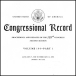 Congressional Record cover