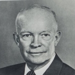 Photo of President Dwight D. Eisenhower from his 1957 Public Papers
