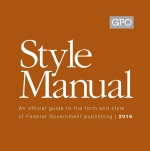 Cover of the 2016 GPO Style Manual
