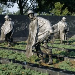Statues at the National Park Service's Korean Veterans War Memorial in Washington DC, Source: Library of Congress