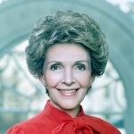 Official Portrait of Nancy Reagan, Courtesy: Ronald Reagan Library