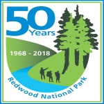 Redwood National Park's 50th Anniversary poster