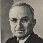 Photo of President Harry S. Truman from his 1949 Public Papers