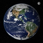 A view of Earth from Space, Source: NASA