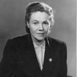 Portrait of Eugenie Anderson, ca. 1956, Source: Harry S. Truman Presidential Library and Museum, National Archives