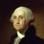 Portrait of George Washington by Gilbert Stuart c. 1797
