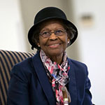 Dr. Gladys West, a mathematician who was inducted into the Air Force Space and Missile Pioneers Hall of Fame for her contributions in the creation of GPS. Source: USAF