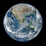 Image of Earth from Outer Space