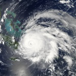 View of Hurricane Ike captured on NASA's Aqua satellite September 7, 2008, Source: NASA