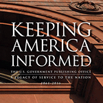 Image of the cover for the 2016 Edition of Keeping America Informed
