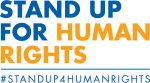 Logo for the 2019 Human Rights Day Theme: Youth Standing Up for Human Rights