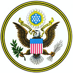 Obverse side of the U.S. Great Seal from S. Doc. 109-18 Our Flag